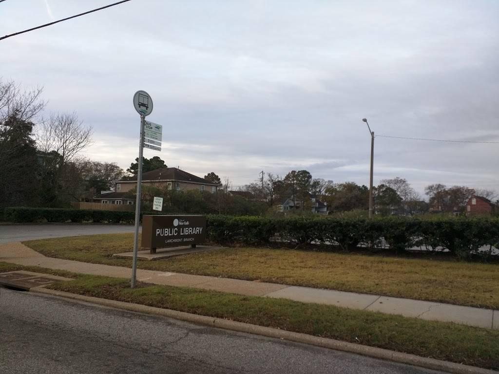 Norfolk Public Library: Larchmont Branch - library  | Photo 4 of 4 | Address: 6525 Hampton Blvd, Norfolk, VA 23508, USA | Phone: (757) 441-5335