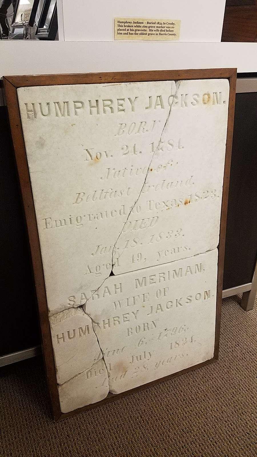 Chambers County Museum at Wallisville - museum  | Photo 8 of 10 | Address: 20136 I-10, Wallisville, TX 77597, USA | Phone: (409) 389-2252