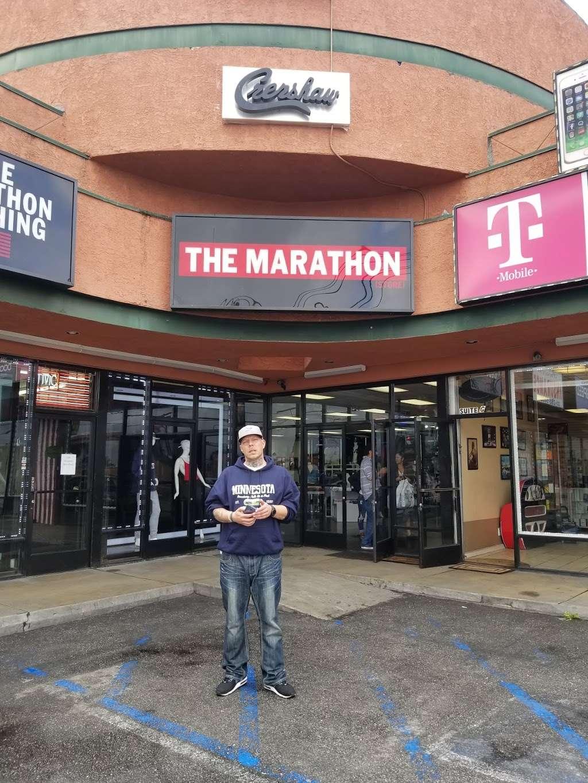 THE MARATHON CLOTHING - clothing store  | Photo 7 of 10 | Address: 3420 W Slauson Ave F, Los Angeles, CA 90043, USA | Phone: (323) 815-4959
