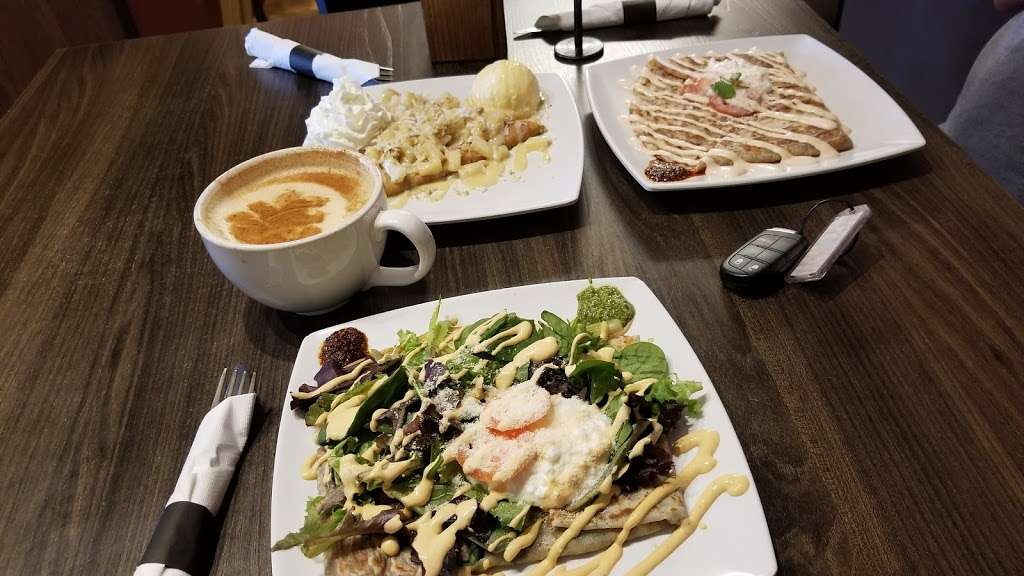 Colados Coffee & Crepes - cafe    Photo 6 of 9   Address: 10685 W Indian School Rd Suite G, Avondale, AZ 85392, USA   Phone: (623) 215-3826
