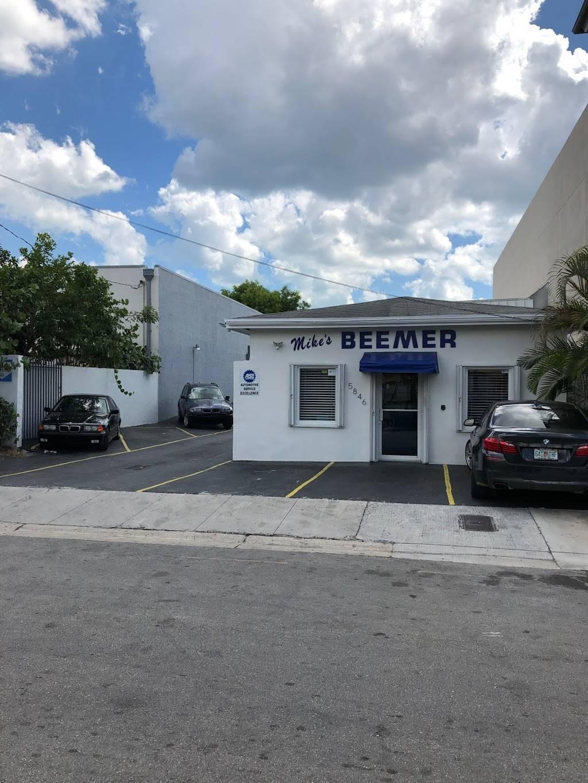 Mikes Beemer Shop - car repair    Photo 1 of 5   Address: 5846 SW 68th St, South Miami, FL 33143, USA   Phone: (305) 661-3311