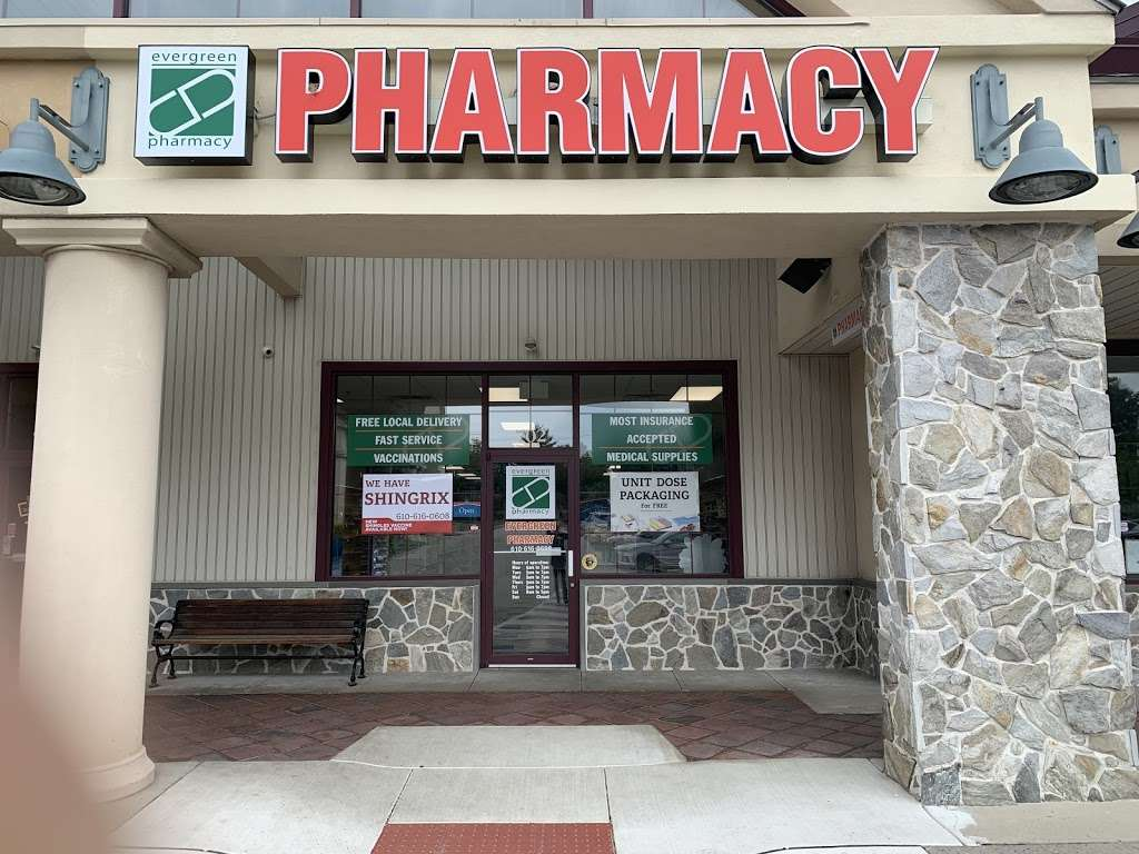 Evergreen Pharmacy II - pharmacy  | Photo 1 of 9 | Address: 702 Dekalb Pike, Blue Bell, PA 19422, USA | Phone: (610) 616-0608