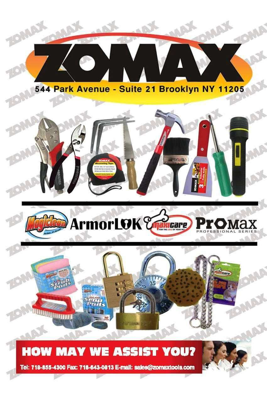Zomax Inc - hardware store  | Photo 5 of 5 | Address: 544 Park Ave, Brooklyn, NY 11205, USA | Phone: (718) 855-4300