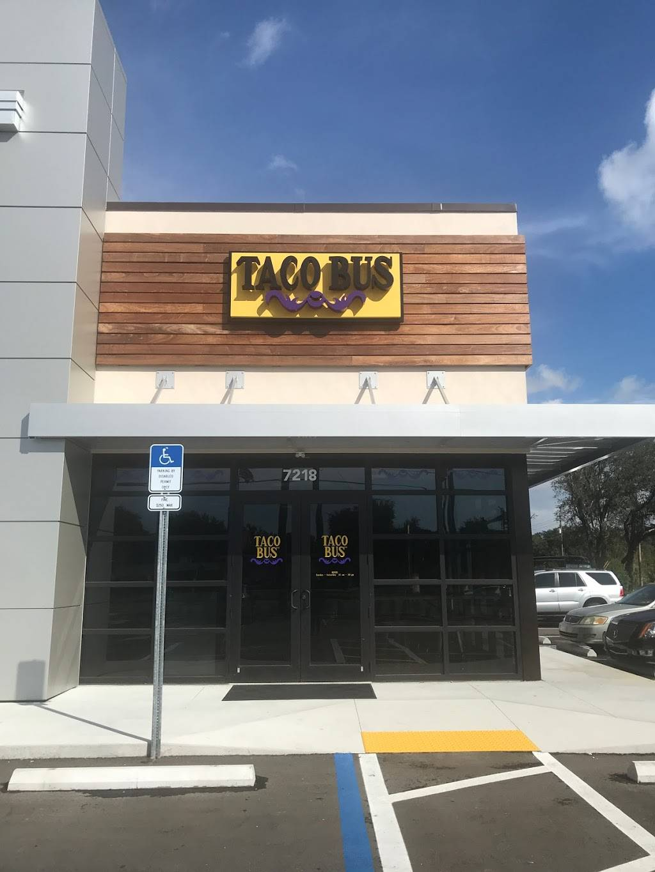 Taco Bus - restaurant    Photo 1 of 10   Address: 7218 E Hillsborough Ave, Tampa, FL 33610, USA   Phone: (813) 302-9992