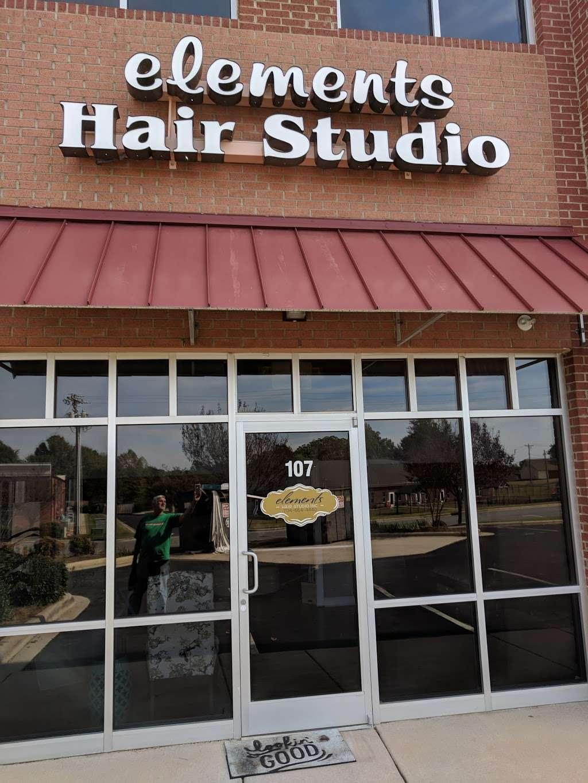 Elements Hair Studio - hair care  | Photo 3 of 4 | Address: 111 Kilson Dr #107, Mooresville, NC 28117, USA | Phone: (704) 664-4440