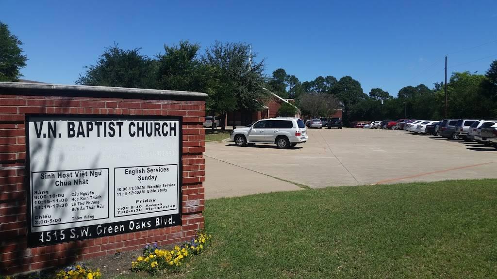 Vietnamese Baptist Church of Arlington - church  | Photo 7 of 10 | Address: 4515 SW Green Oaks Blvd, Arlington, TX 76017, USA | Phone: (817) 478-7592