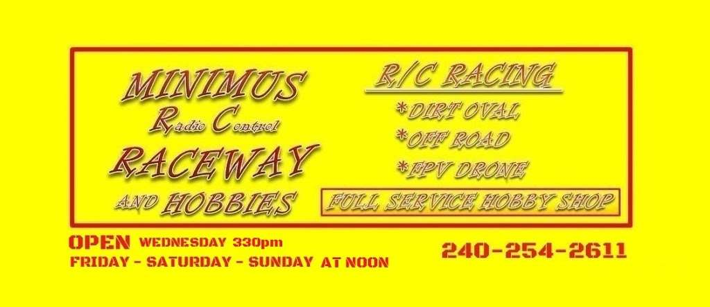 MINIMUS RADIO CONTROL RACEWAY AND HOBBIES - Located on the back  - car repair  | Photo 2 of 10 | Address: 8275 Old Leonardtown Rd unit b, Hughesville, MD 20637, USA | Phone: (240) 254-2611