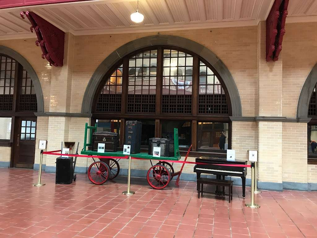 Central Railroad of New Jersey Terminal - museum  | Photo 1 of 10 | Address: 1 Audrey Zapp Dr, Jersey City, NJ 07305, USA | Phone: (201) 915-0615