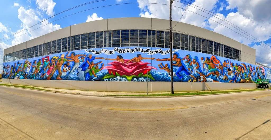 """""""The Rebirth Of Our Nationality"""" Mural - museum  