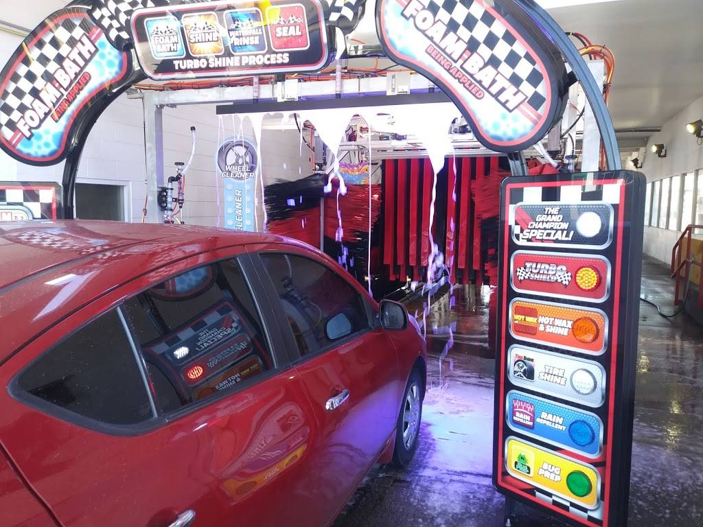 Raceway Express Car Wash - car wash    Photo 5 of 10   Address: 808 S Alma School Rd, Mesa, AZ 85210, USA   Phone: (602) 900-1731