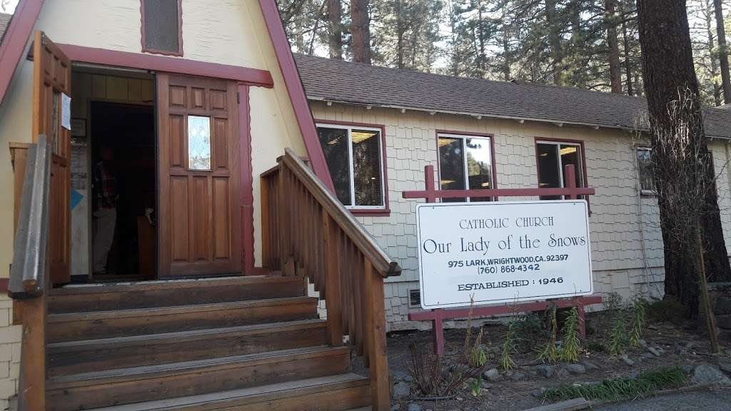 Our Lady of the Snows Church - church  | Photo 2 of 7 | Address: 975 Lark Rd, Wrightwood, CA 92397, USA | Phone: (760) 868-4342