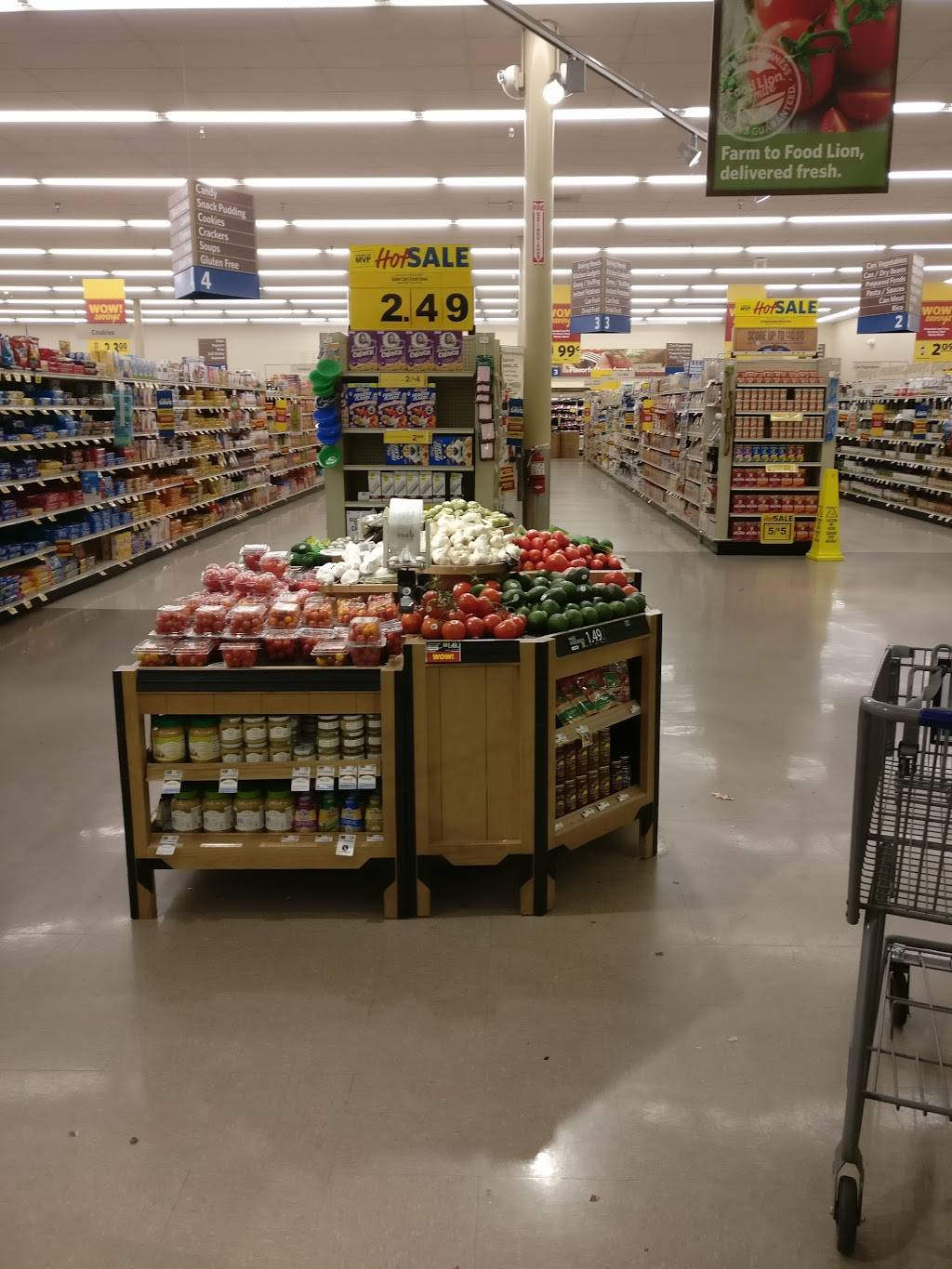 Food Lion - store    Photo 6 of 10   Address: 1601 Cross Link Rd #1, Raleigh, NC 27610, USA   Phone: (919) 807-1395
