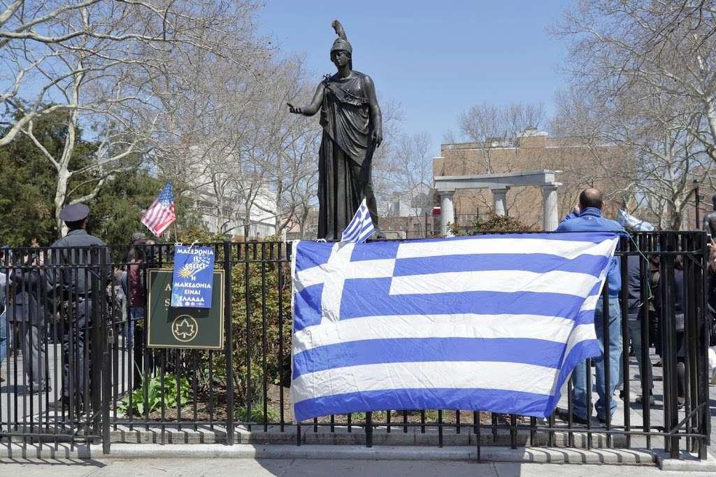 Athens Square - park  | Photo 4 of 10 | Address: 30th St & 30th Ave, Astoria, NY 11102, USA
