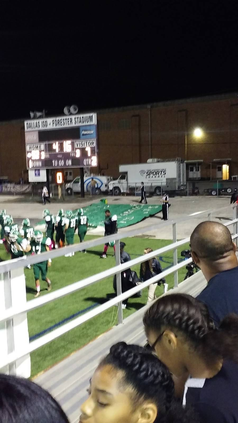 Forester Field - stadium  | Photo 9 of 9 | Address: 8233 Military Pkwy, Dallas, TX 75227, USA | Phone: (214) 381-8790