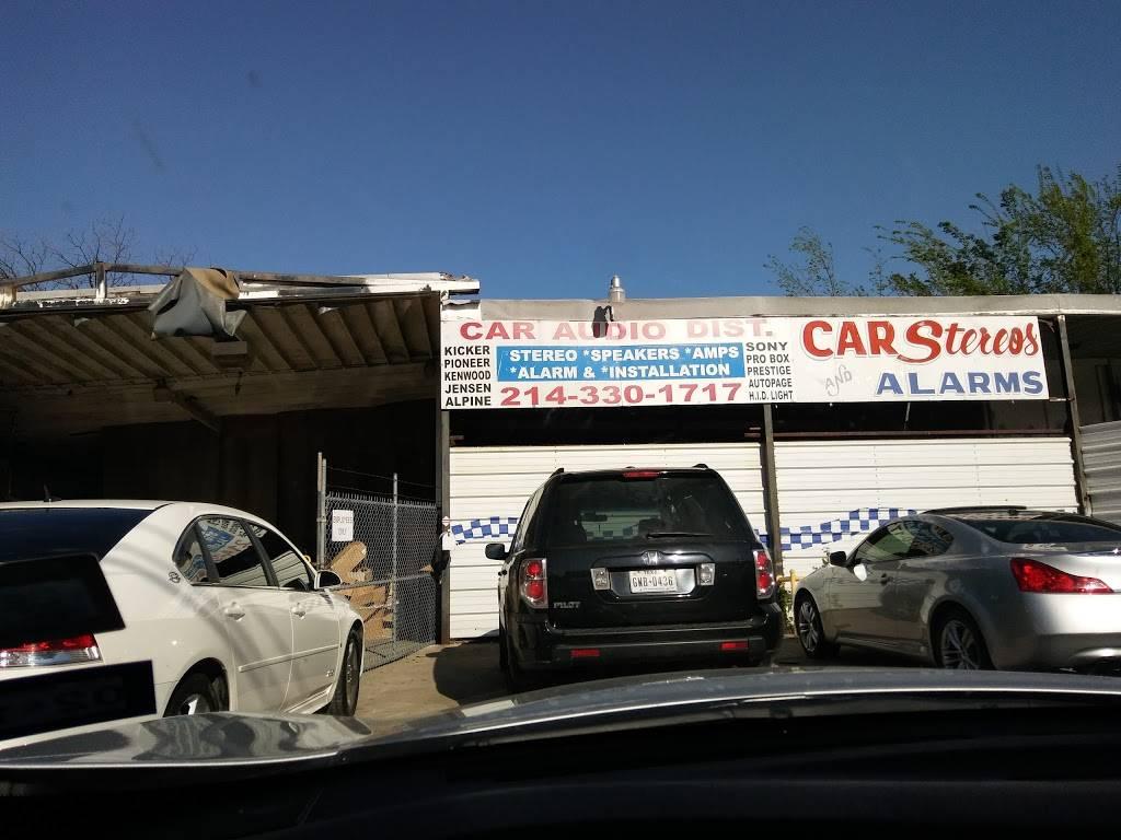 Car Audio Distributors - electronics store    Photo 1 of 6   Address: 5212 W Davis St, Dallas, TX 75211, USA   Phone: (214) 330-1717