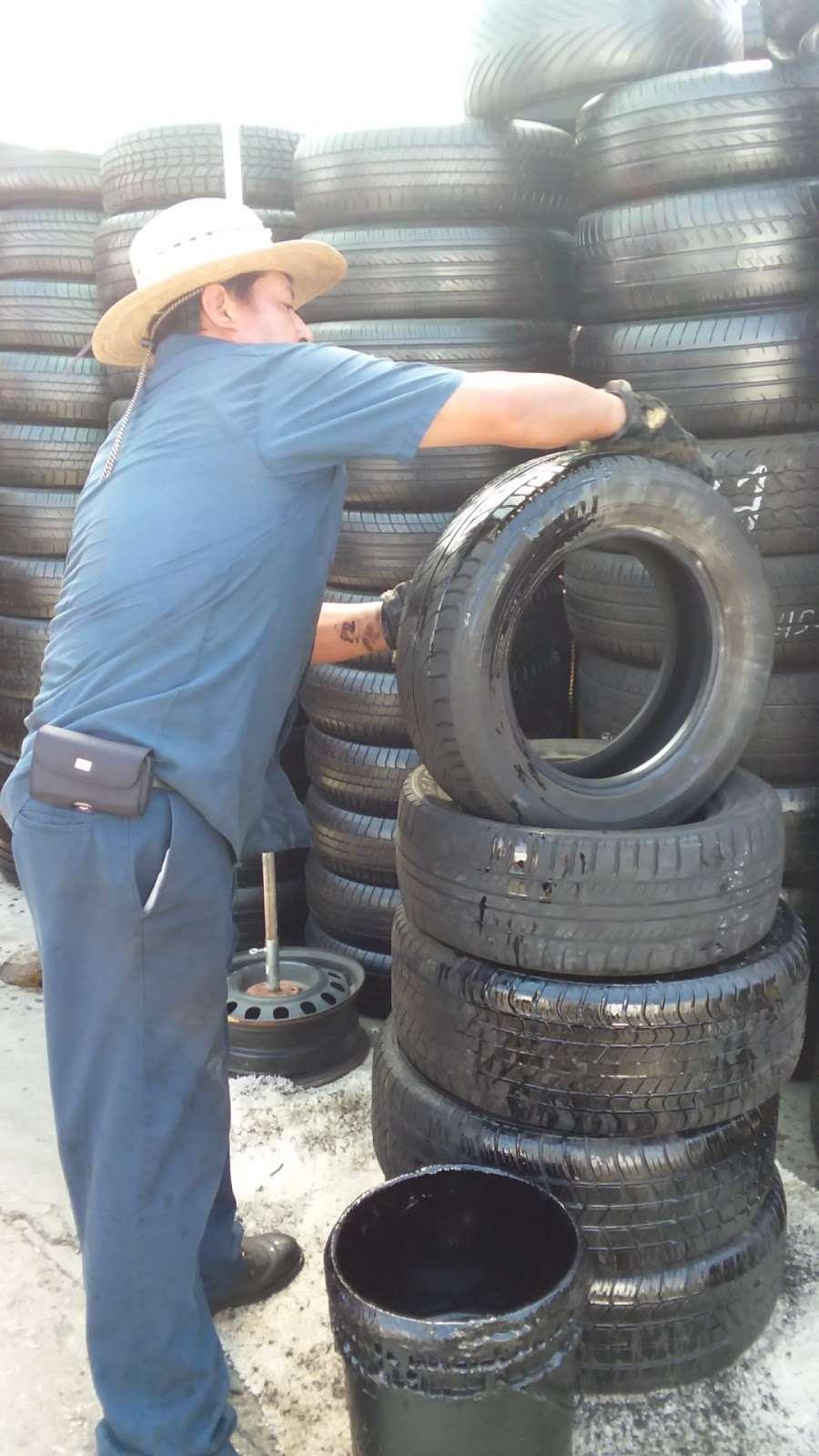Leon Tires & Wheels - car repair  | Photo 10 of 10 | Address: 8431 S Main St, Los Angeles, CA 90003, USA | Phone: (323) 456-5405