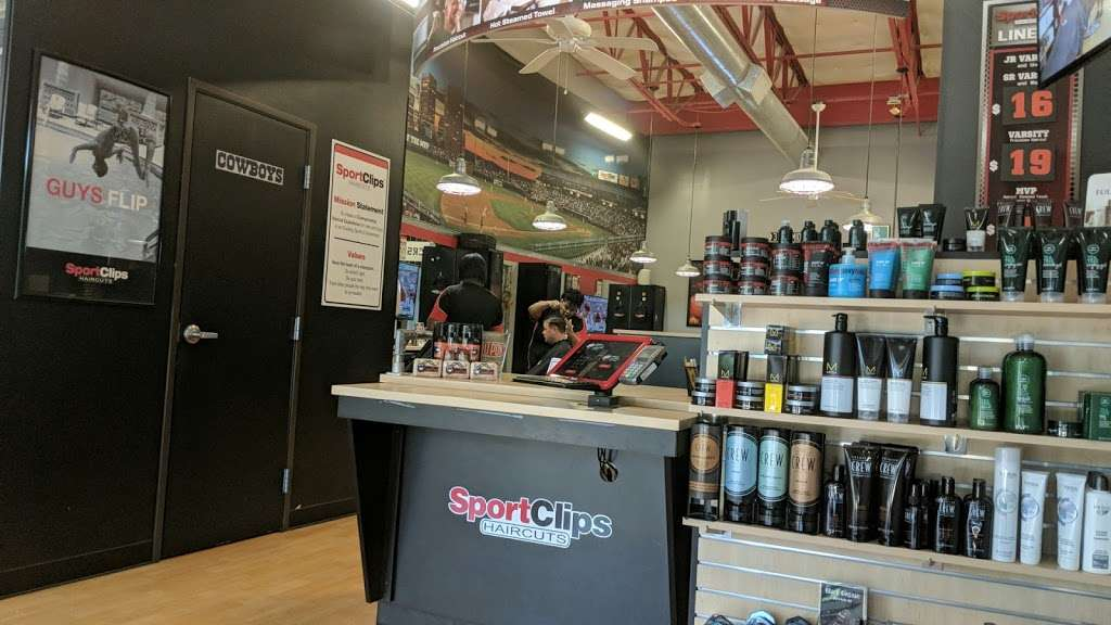 Sport Clips Haircuts of Coppell - hair care  | Photo 2 of 10 | Address: 240 N Denton Tap Rd #430, Coppell, TX 75019, USA | Phone: (972) 393-9490