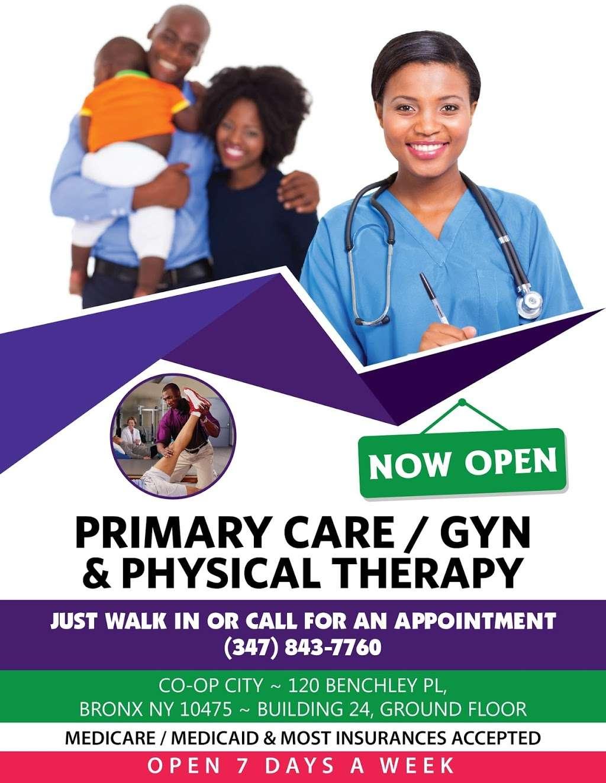 Rimisac Family Health, GYN, Pediatrics & Physical Therapy - Reha - physiotherapist    Photo 3 of 3   Address: 120 Benchley Pl, The Bronx, NY 10475, USA   Phone: (347) 843-7760
