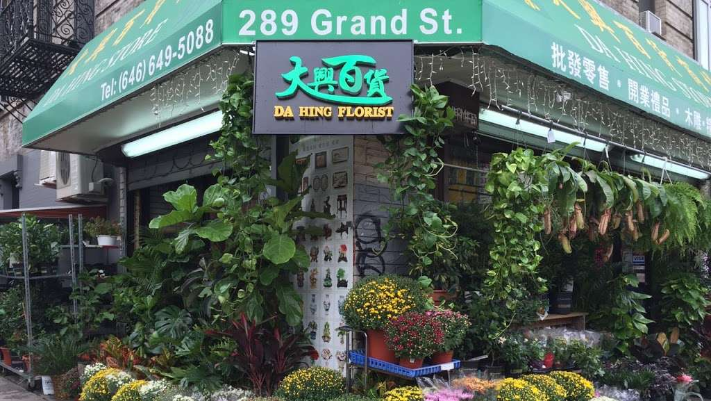 Da Hing Florist - florist  | Photo 8 of 10 | Address: 289 Grand St, New York, NY 10002, USA | Phone: (646) 649-5088