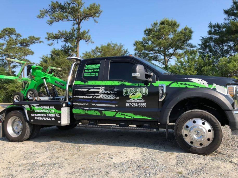 Grassfield Towing & Recovery - car repair  | Photo 1 of 10 | Address: 122 Sampson Creek Rd, Chesapeake, VA 23322, USA | Phone: (757) 264-3560