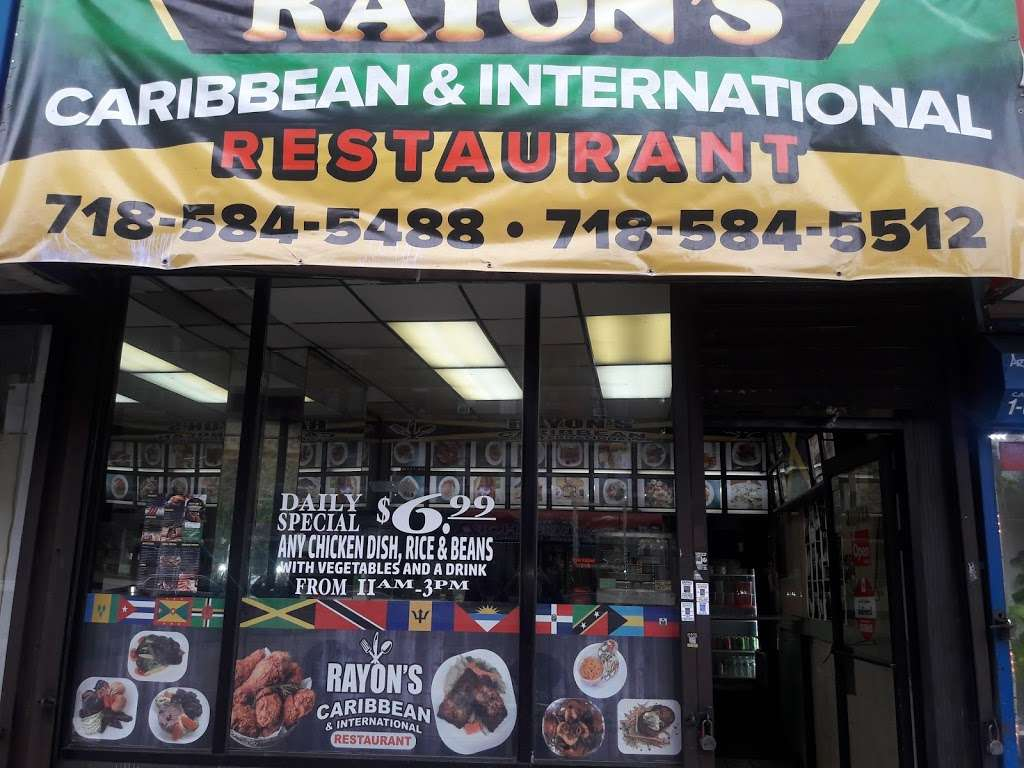 Rayon's Caribbean & International Restaurant - restaurant  | Photo 2 of 3 | Address: 3003A Webster Ave, Bronx, NY 10458, USA | Phone: (718) 584-5488