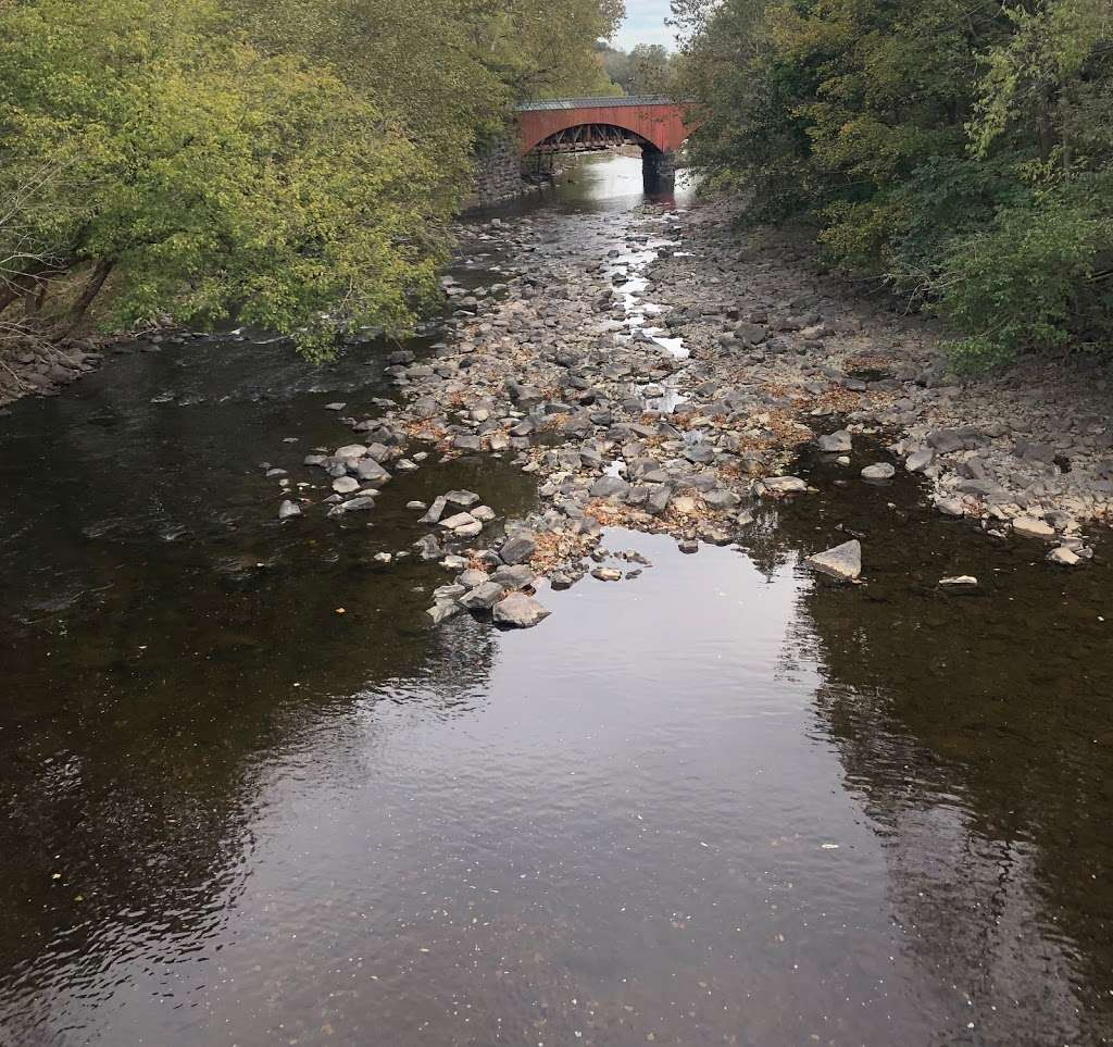 The Tohickon Creek At the Point Pleasant Bridge - park  | Photo 5 of 10 | Address: River Rd, Pipersville, PA 18947, USA