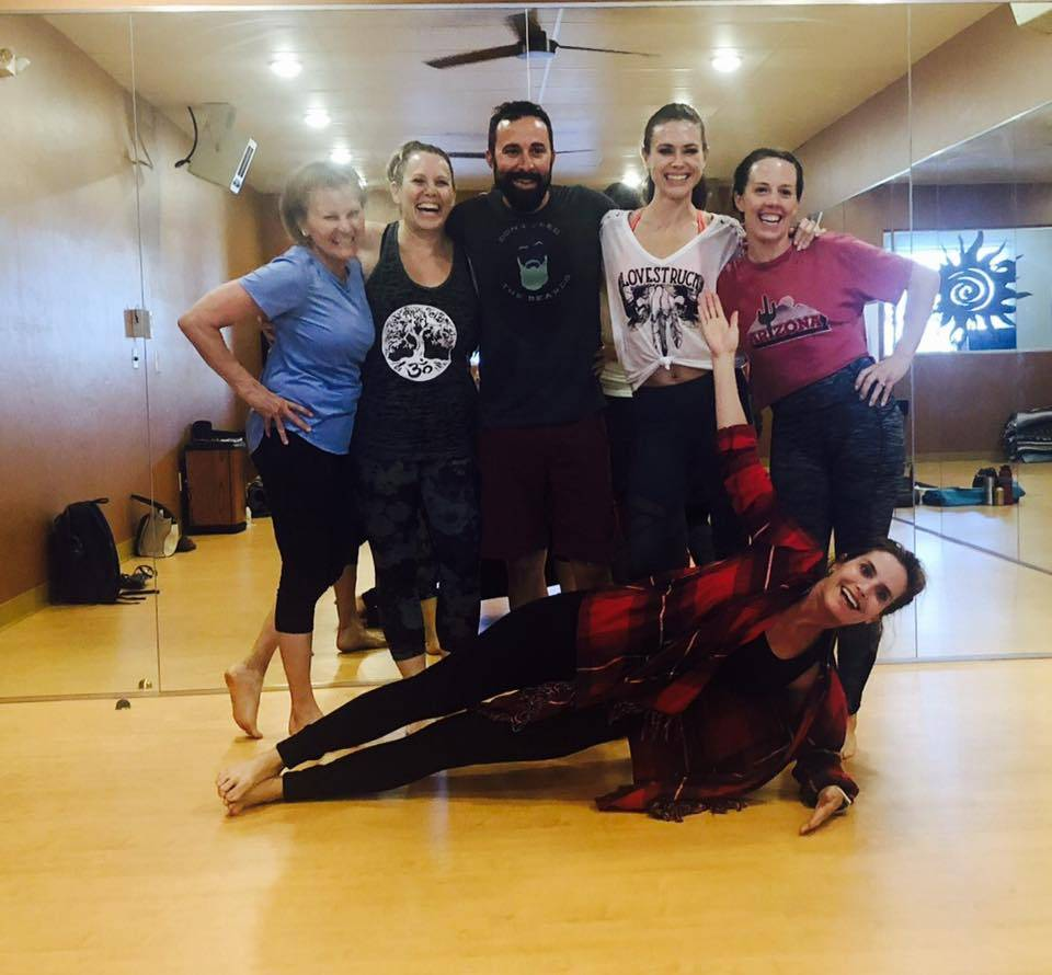 Tucson Yoga Sol - gym  | Photo 7 of 10 | Address: 5821 N Oracle Rd, Tucson, AZ 85704, USA | Phone: (520) 477-7651