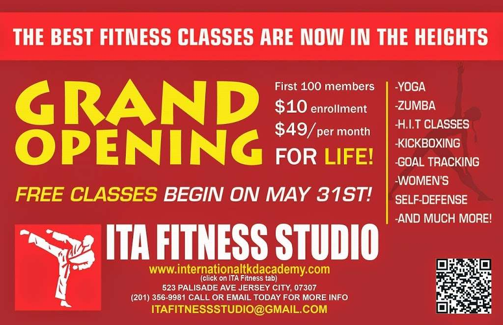 ITA Fitness Studio - gym  | Photo 4 of 5 | Address: 523 Palisade Ave, Jersey City, NJ 07307, USA | Phone: (201) 356-9918
