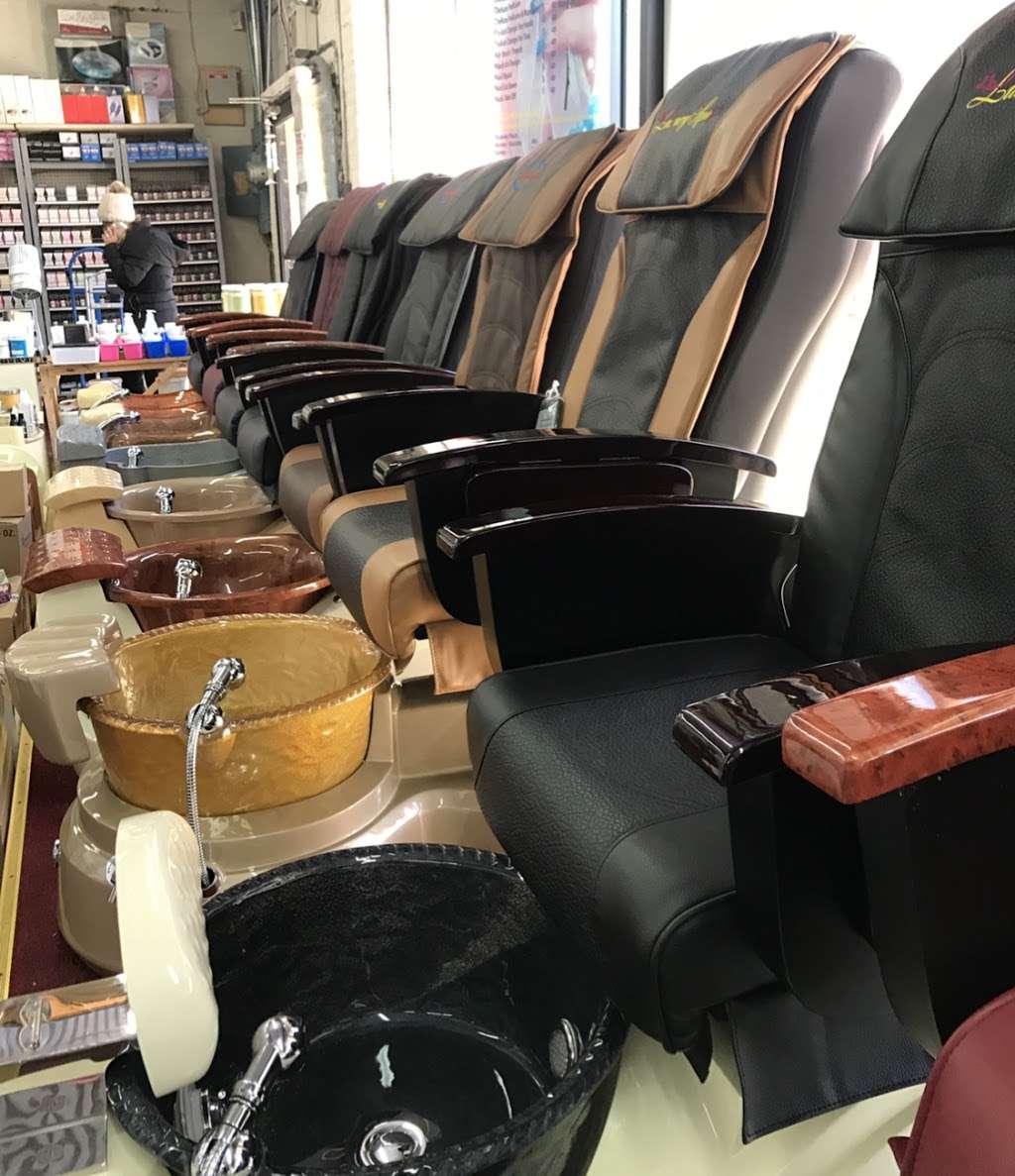 Angelina Nail Supply Inc. - store  | Photo 5 of 7 | Address: 686 4th Ave, Brooklyn, NY 11232, USA | Phone: (718) 832-1688