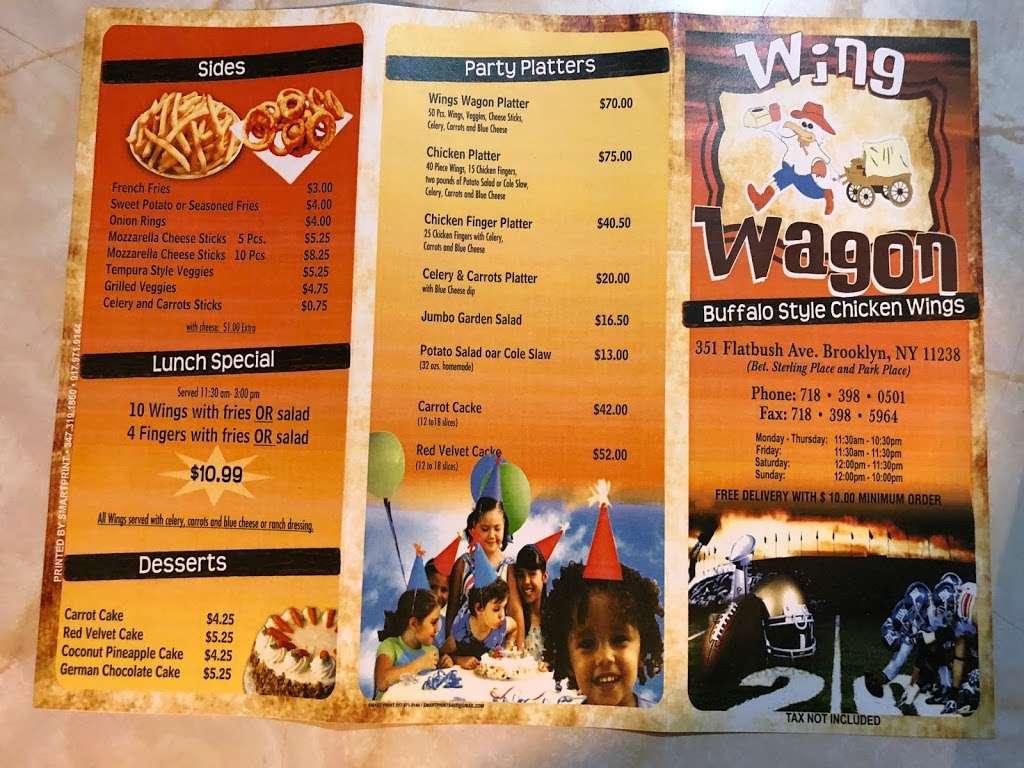 Wing Wagon - restaurant  | Photo 4 of 7 | Address: 351 Flatbush Ave, Brooklyn, NY 11238, USA | Phone: (718) 398-0501