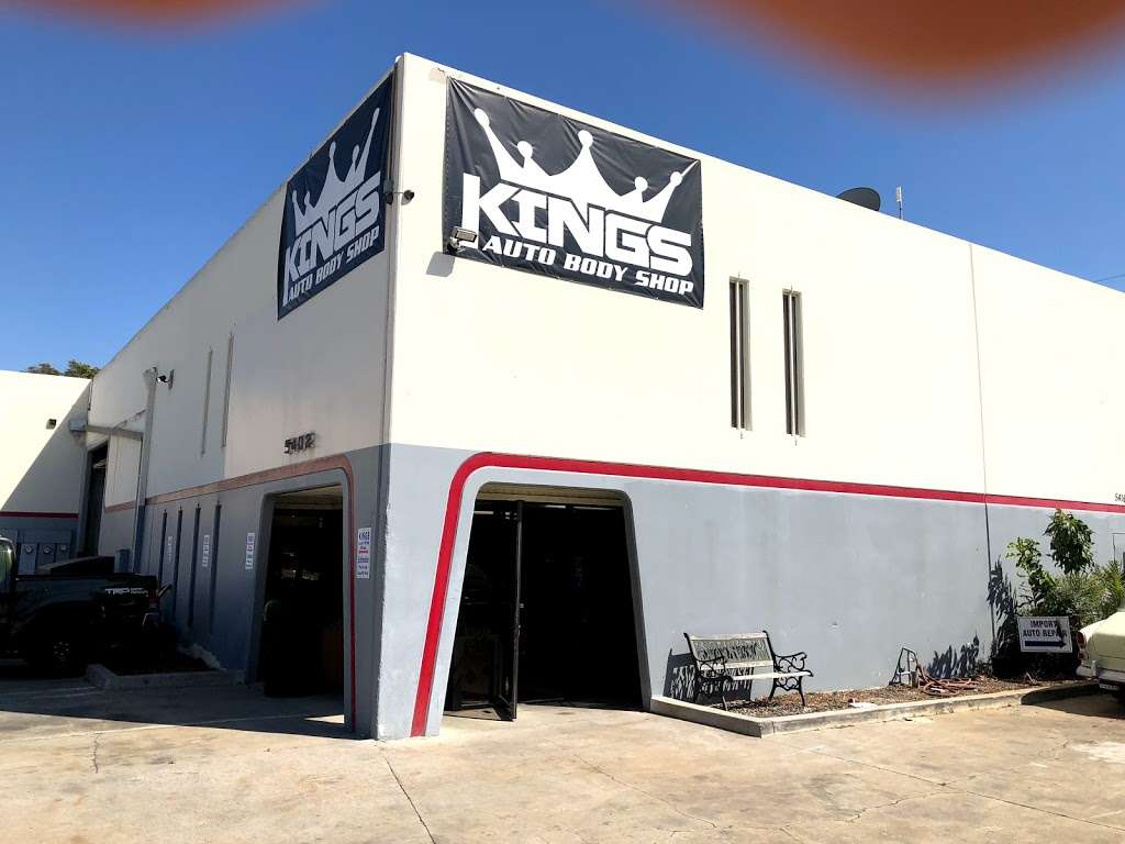 Kings Auto Body Shop - car repair  | Photo 10 of 10 | Address: 5402 System Dr, Huntington Beach, CA 92649, USA | Phone: (714) 842-1166