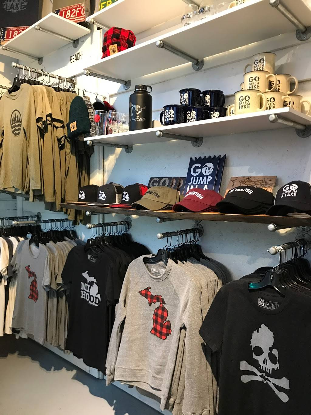 The Great Lakes State - clothing store  | Photo 3 of 9 | Address: 22801 Woodward Ave, Ferndale, MI 48220, USA | Phone: (248) 268-2517