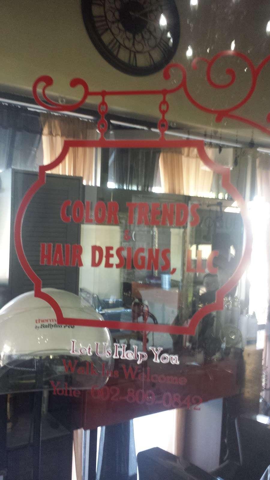 Color Hair & Trend Designs - hair care    Photo 6 of 10   Address: 16049 N Arrowhead Fountains Center Dr #30, Peoria, AZ 85382, USA   Phone: (602) 809-0842