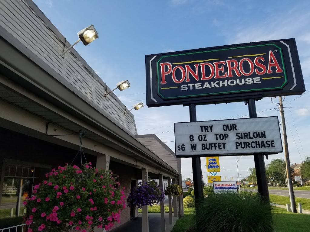 Ponderosa - restaurant  | Photo 3 of 8 | Address: 3875 S High St, Columbus, OH 43207, USA | Phone: (614) 491-7552
