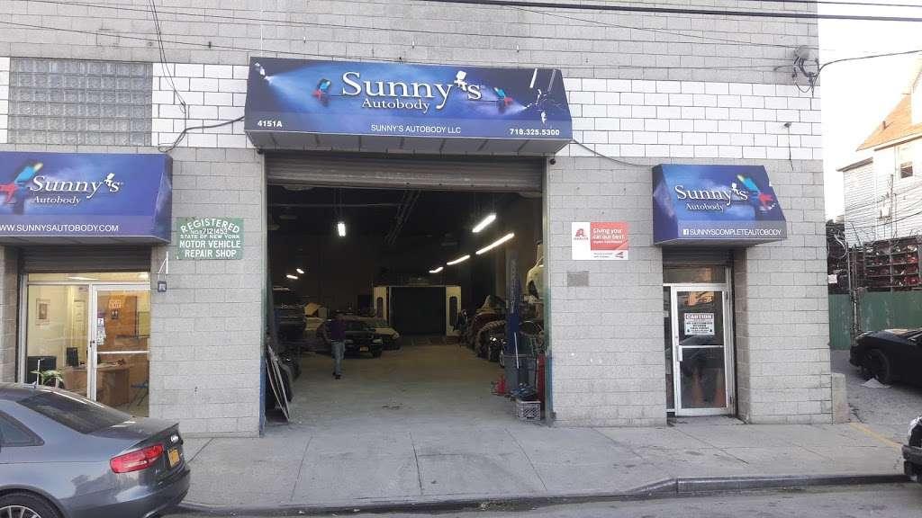 Sunnys Autobody, LLC - car repair    Photo 4 of 8   Address: 4151 Boston Road #A, Bronx, NY 10466, USA   Phone: (718) 325-5300