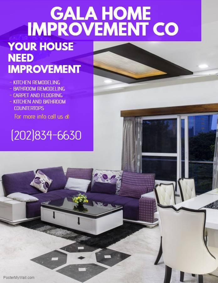 Gala Home Improvement Co - home goods store    Photo 3 of 5   Address: 8534 Terminal Rd # K, Lorton, VA 22079, USA   Phone: (202) 834-6630