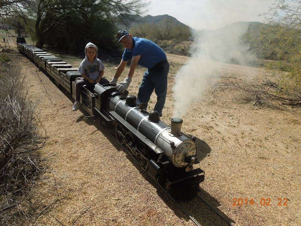 Adobe Mountain Train Museum - museum  | Photo 1 of 10 | Address: 23280 N 43rd Ave, Glendale, AZ 85310, USA | Phone: (623) 252-6871