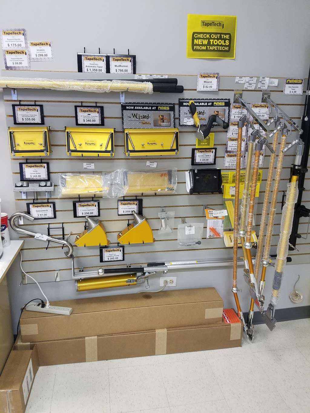 AMES Taping Tools - Store   6804 183rd St, Tinley Park, IL 60477, USA