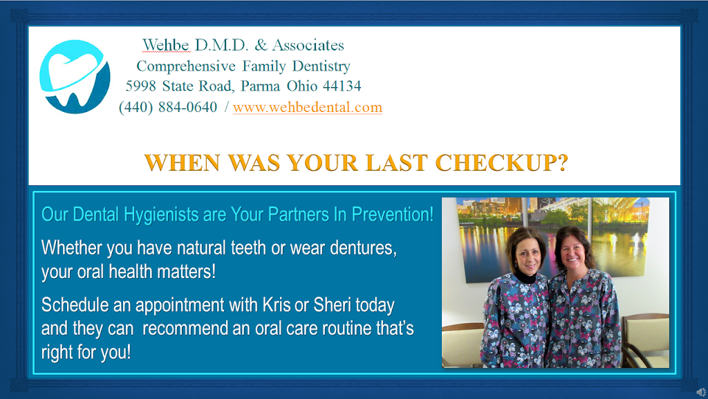 Wehbe DMD & Associates - dentist  | Photo 1 of 5 | Address: 5998 State Rd, Parma, OH 44134, USA | Phone: (440) 884-0640