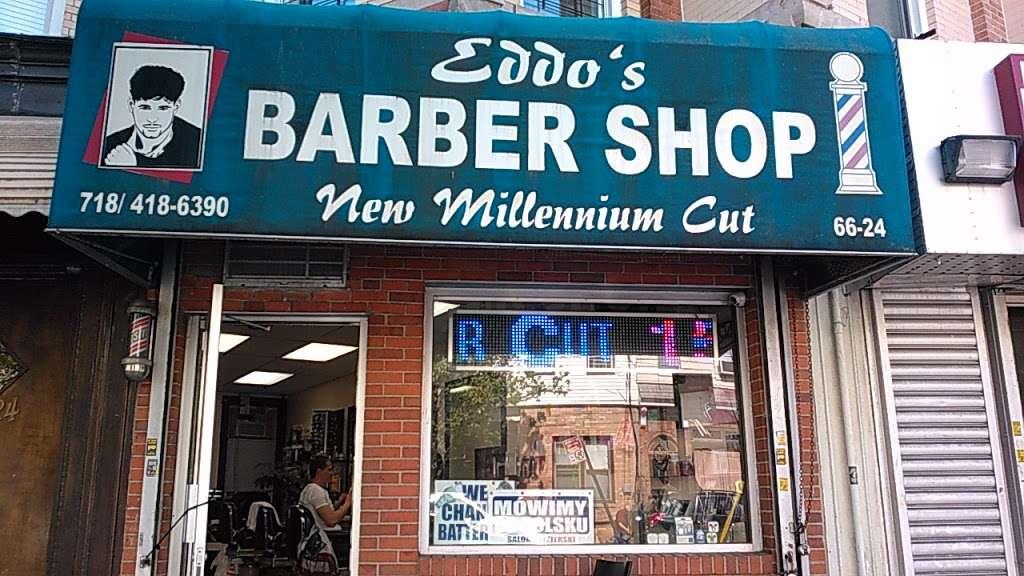 Eddos Barber Shop (Since 2002) - hair care  | Photo 4 of 10 | Address: 6624 Forest Ave, Ridgewood, NY 11385, USA | Phone: (718) 418-6390
