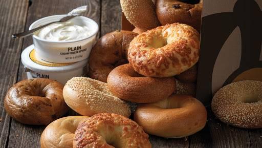 Einstein Bros. Bagels - bakery  | Photo 2 of 9 | Address: 16304 Beach Blvd, Westminster, CA 92683, USA | Phone: (714) 847-4609