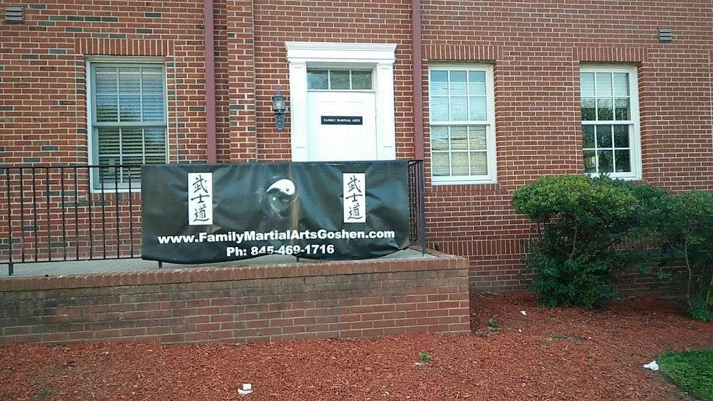 Family Martial Arts - health    Photo 1 of 1   Address: 3 Coates Dr, Goshen, NY 10924, USA   Phone: (845) 597-6656