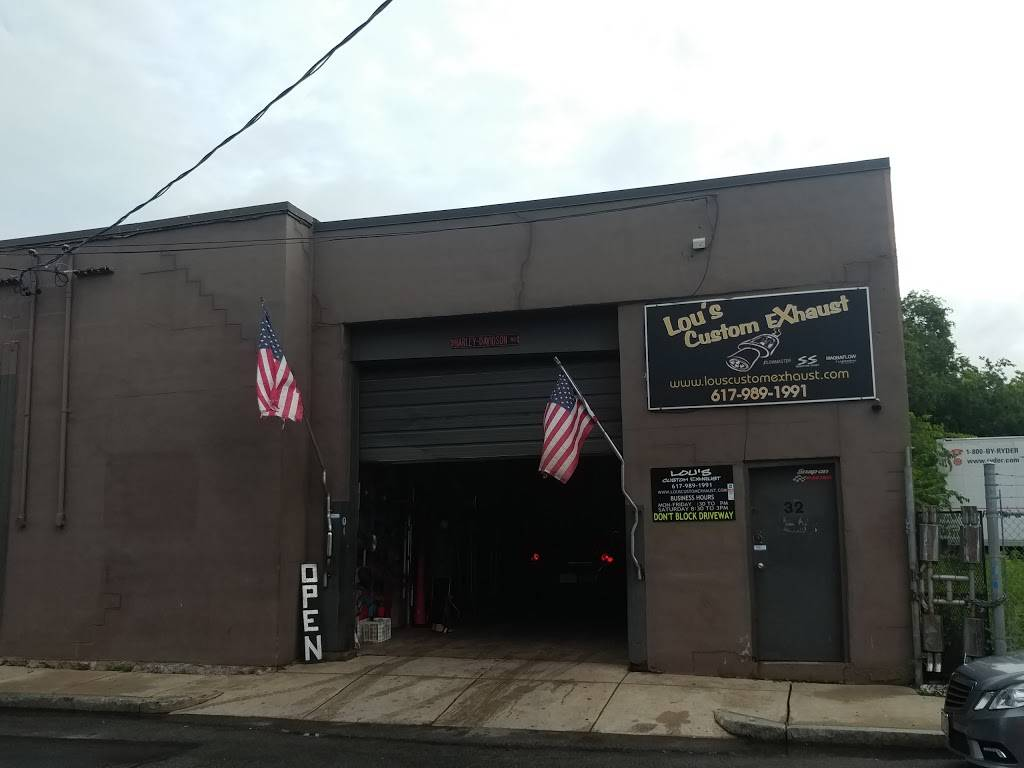 Lous Custom Exhaust - car repair  | Photo 1 of 10 | Address: 32 Allerton St, Boston, MA 02119, USA | Phone: (617) 989-1991