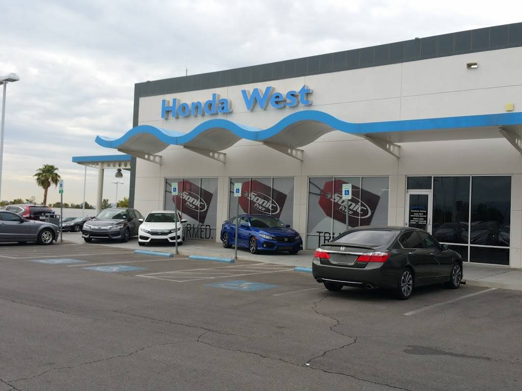 Honda West - car dealer  | Photo 1 of 10 | Address: 7615 W Sahara Ave, Las Vegas, NV 89117, USA | Phone: (800) 249-9504