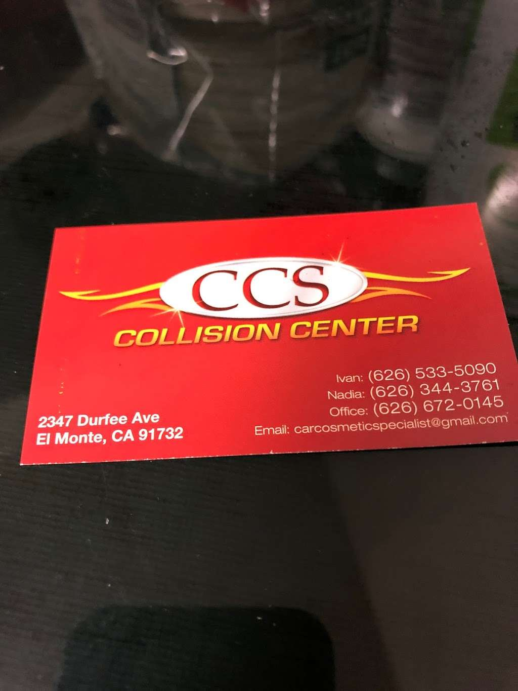 CCS Car Cosmetic Specialist - car repair  | Photo 1 of 2 | Address: 2347 Durfee Ave, El Monte, CA 91732, USA | Phone: (626) 533-5090