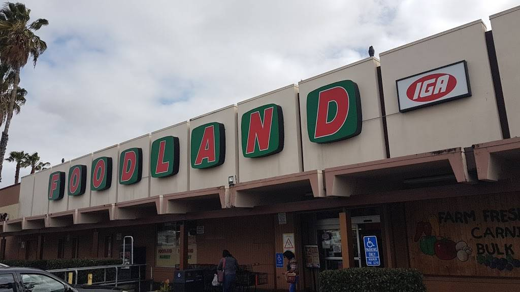 Foodland San Diego CA - supermarket    Photo 1 of 10   Address: 5075 Federal Blvd, San Diego, CA 92102, USA   Phone: (619) 262-9992