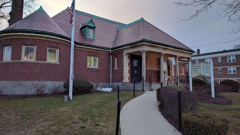 Richards Memorial Library - library  | Photo 1 of 5 | Address: 118 N Washington St, North Attleborough, MA 02760, USA | Phone: (508) 699-0122