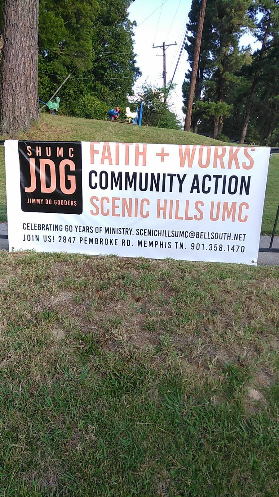 Scenic Hills United Methodist - church  | Photo 3 of 3 | Address: 2847 Pembroke Rd, Memphis, TN 38128, USA | Phone: (901) 358-1470