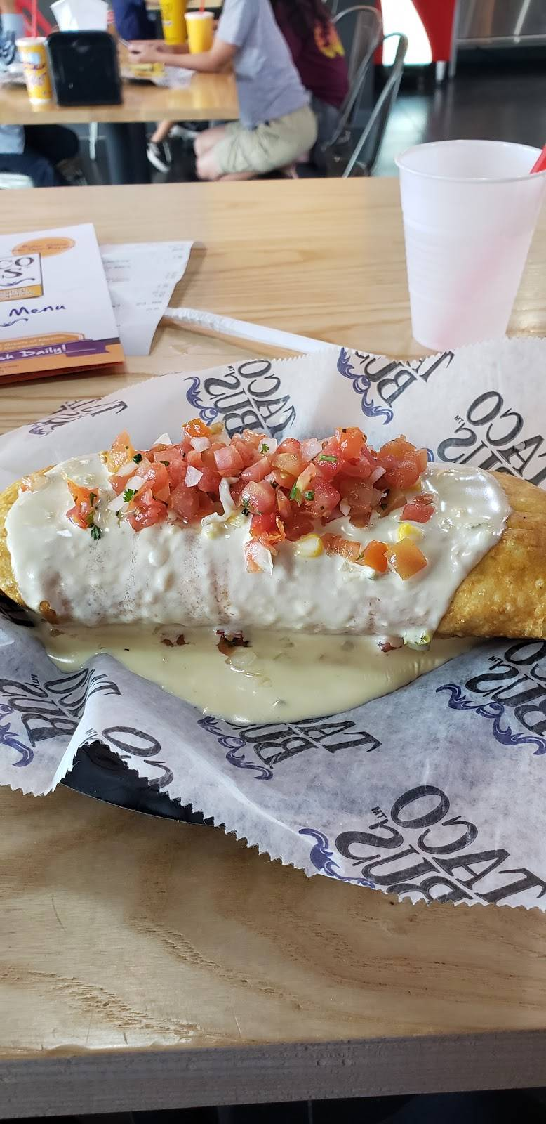 Taco Bus - restaurant    Photo 9 of 10   Address: 7218 E Hillsborough Ave, Tampa, FL 33610, USA   Phone: (813) 302-9992
