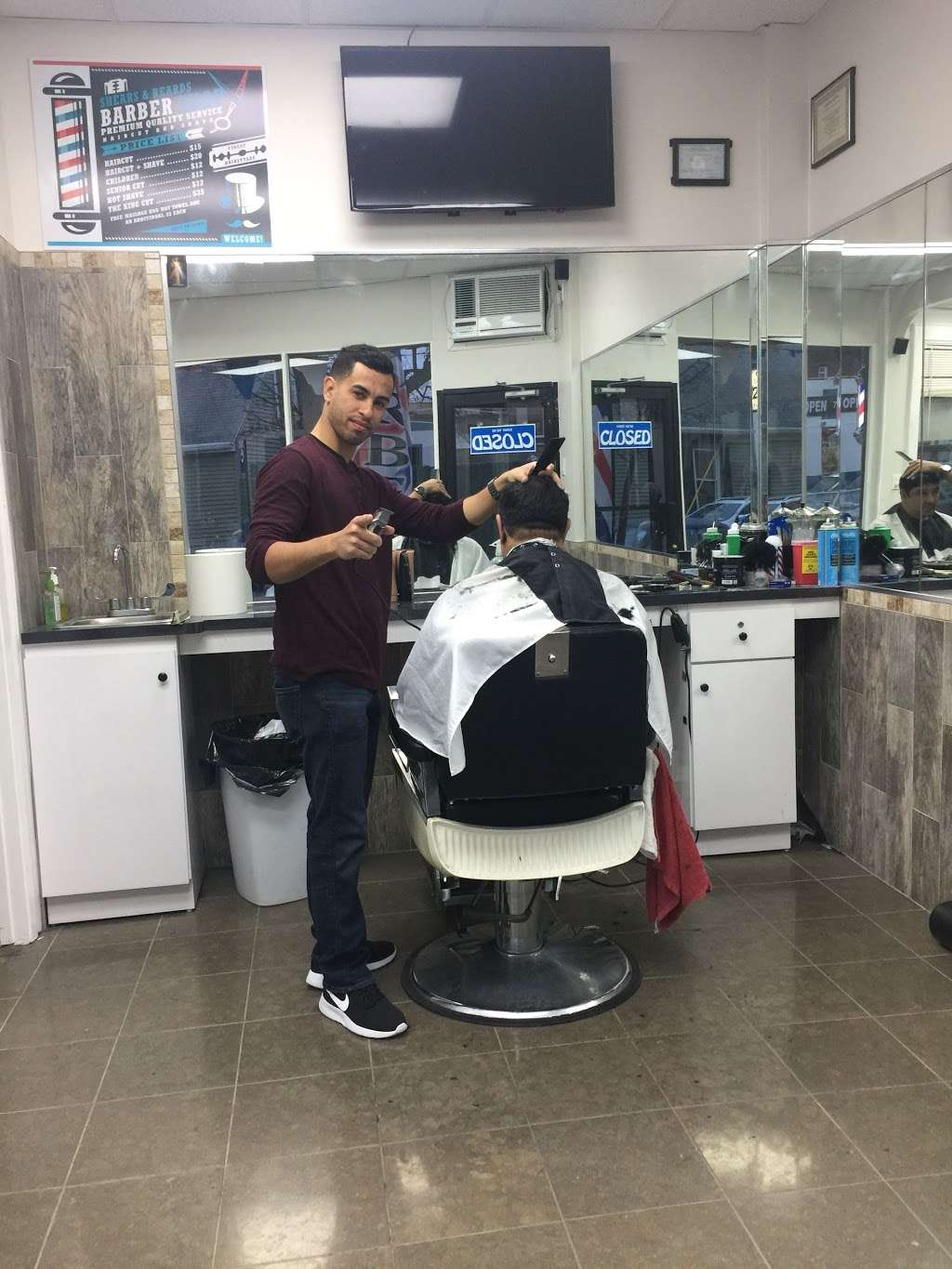 Shears & Beards Barber Shop - hair care    Photo 10 of 10   Address: 126-9 15th Ave, College Point, NY 11356, USA   Phone: (718) 353-3696